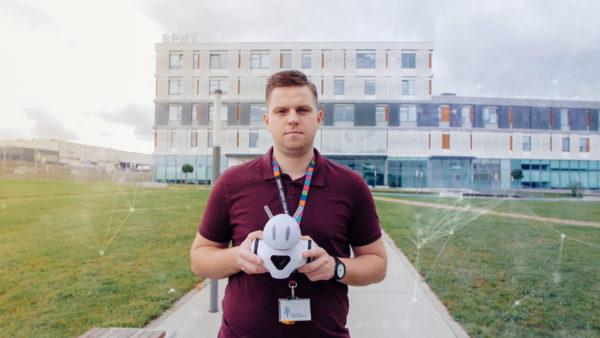Fundacja Technotalenty film promocyjny promo Konkurs Technotalenty Marcin Joka, Photon robot, Białystok