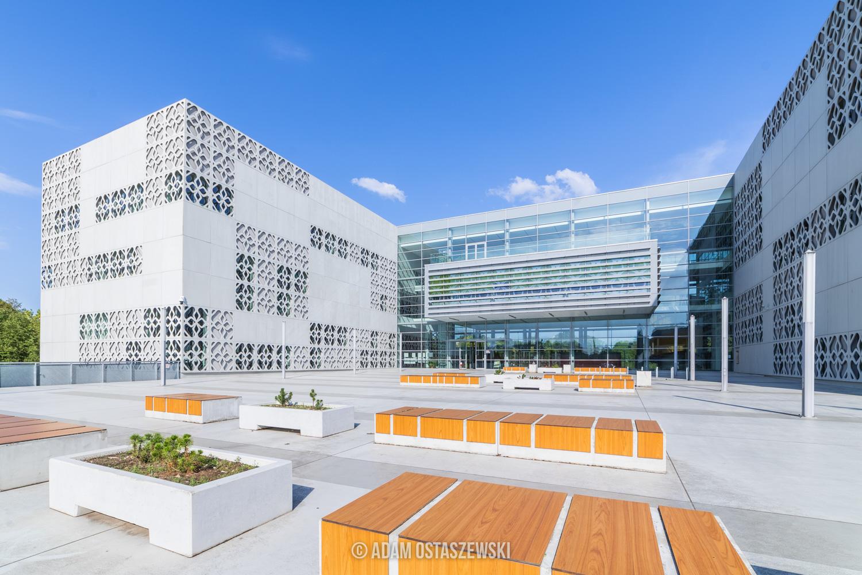 Centrum Nowoczesnego Kształcenia PB, Politechnika Białostocka, fotografia architektury Białystok